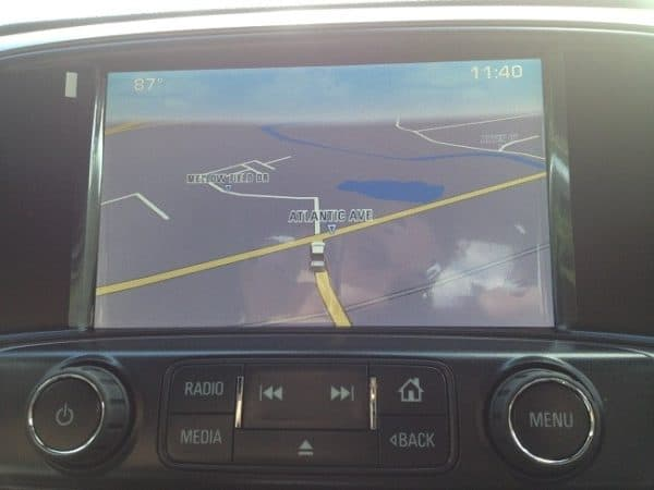 Chevrolet Factory Navigation