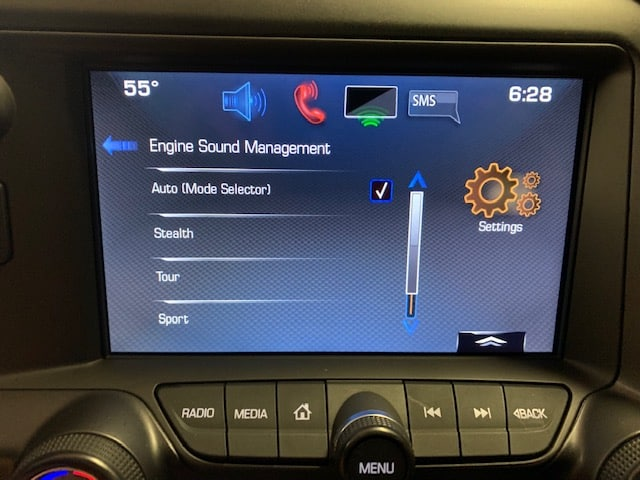 2014 - 2015 Chevy Corvette CarPlay / Android Auto Enabled Factory System