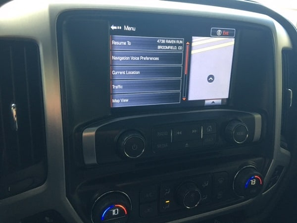 2014 - 2018 GMC IntelliLink Factory Navigation System
